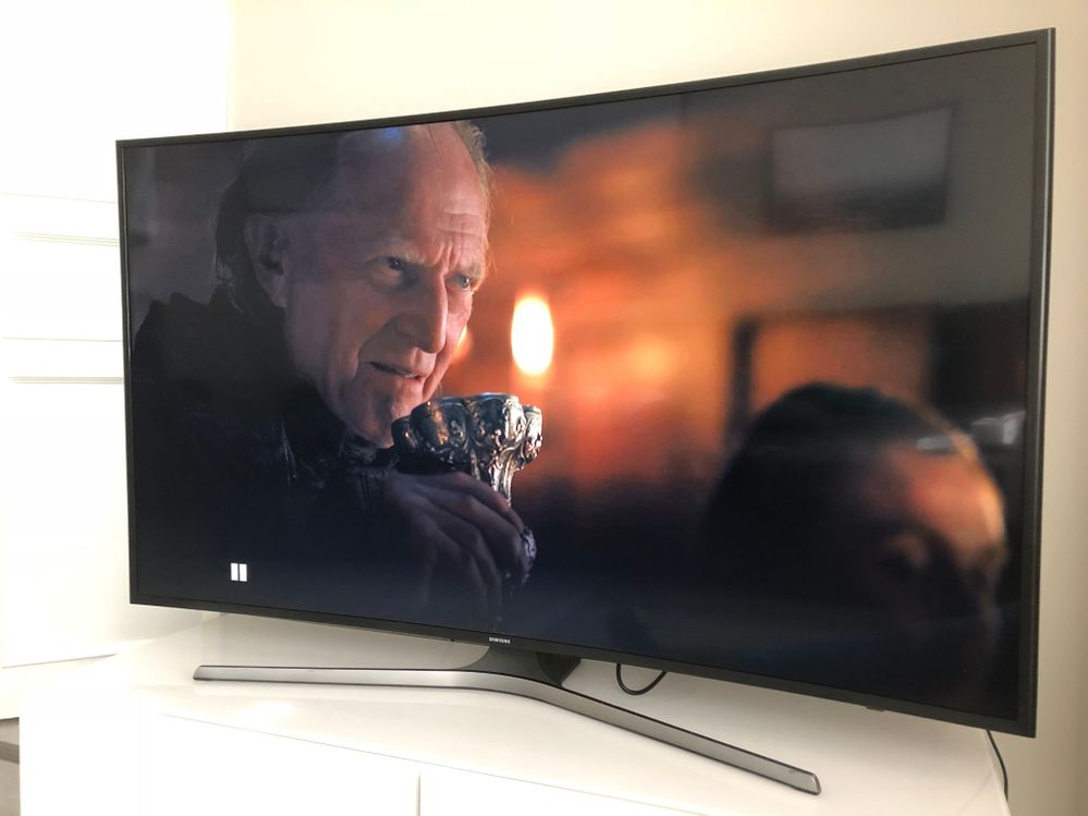 Chromecast Ultra. Kuva: HBO, Game of Thrones